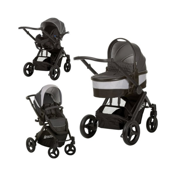 Hauck Бебешка количка Maxan 4 Plus Trio Set 3в1 Melange Charcoal